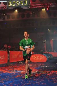 Ing-europe marathon Luxembourg - finish