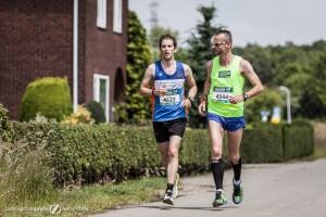 Frank en Iwan, de laatste meters